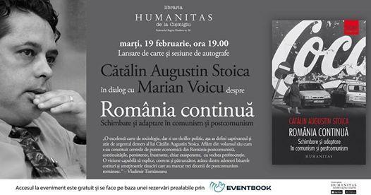 Ctlin Stoica n dialog cu Marian Voicu despre Romnia continu
