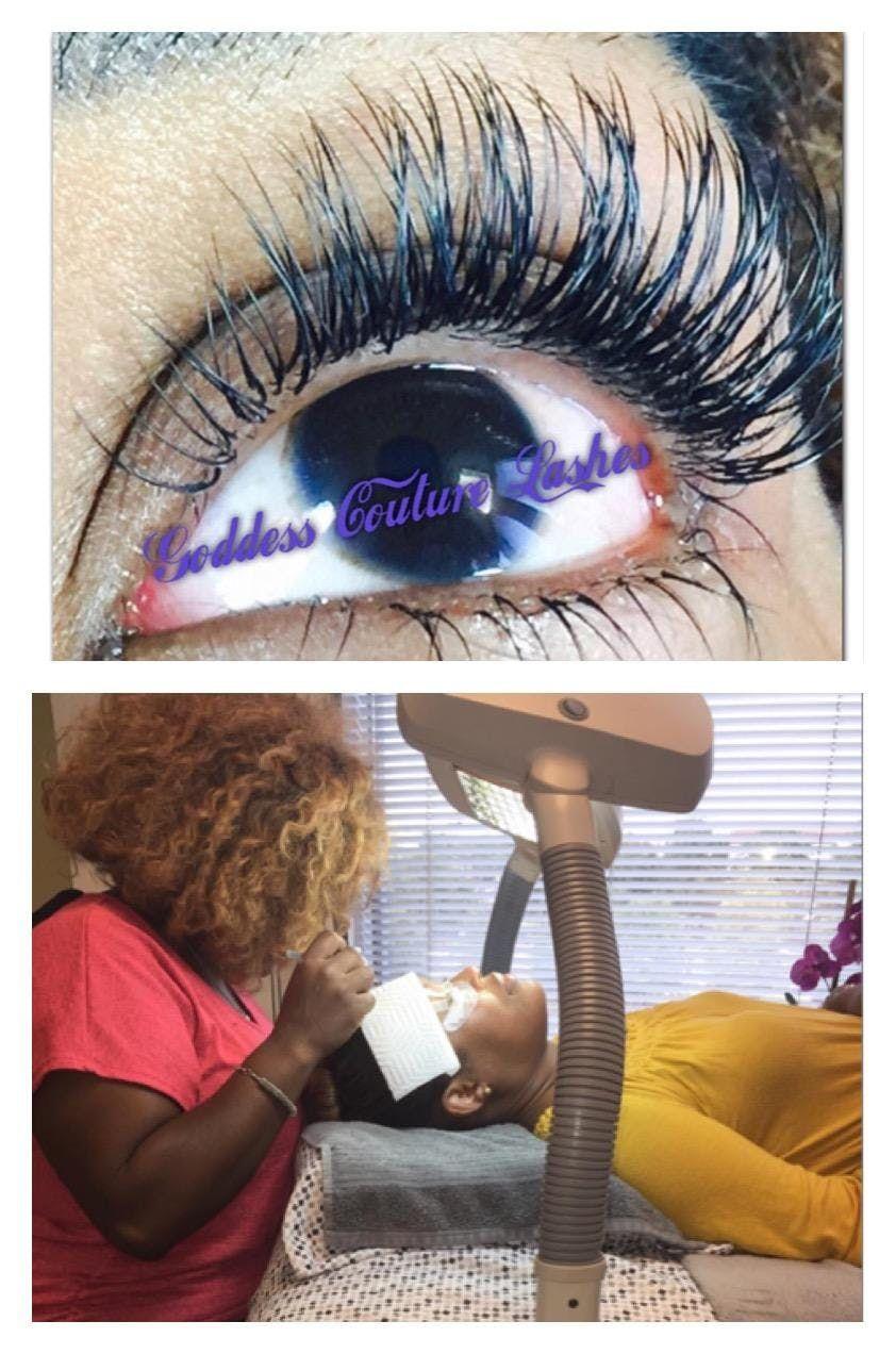 Classic Eyelash Extension Training At Birminghamal Birmingham