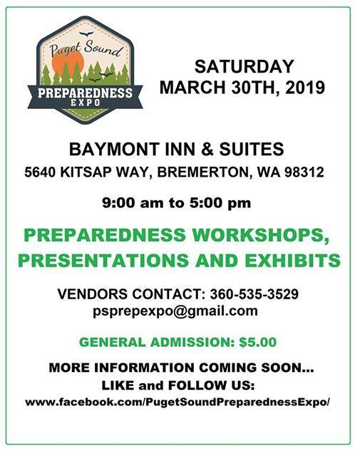 Puget Sound Preparedness Expo 2019