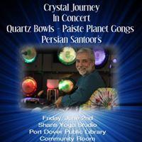 Crystal Journey in Port Dover