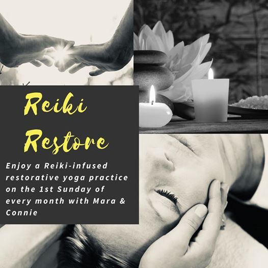 Reiki Restore Reiki infused Restorative yoga