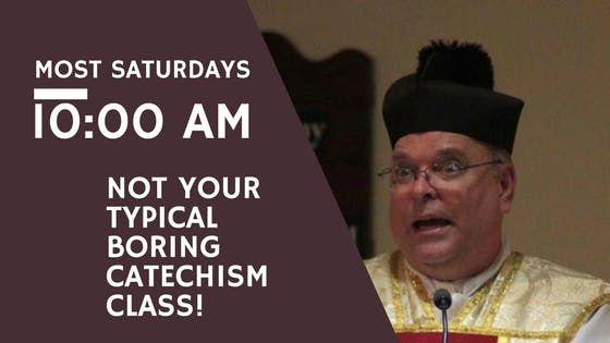 Catholic Catechism Class for Adults
