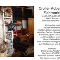 Flohmarkt Adventsflohmarkt shabby und vintage in der Werkstatt