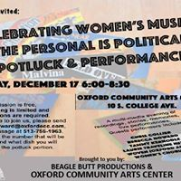 Celebrating Womens Music The Personal is Political