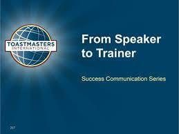 Speaker to Trainer