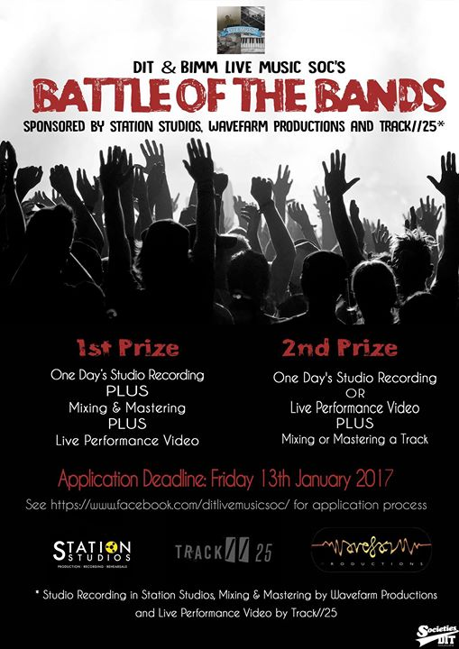 Battle of the Bands Applications