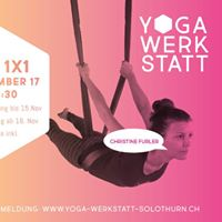 Aerial Yoga 1x1 - Einsteiger Workshop