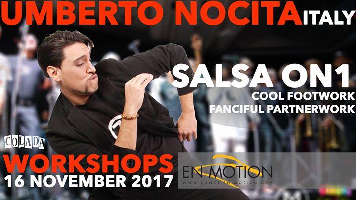 Umberto Nocita (Italy) - Workshops - Salsa On1
