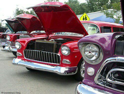 Rockabilly Car Show At Rivers Edge Campground Stevens Point - Rockabilly car show