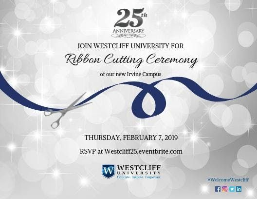 Westcliff University Ribbon Cutting Ceremony