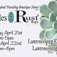 Ruffles and Rust Expo Lawrenceburg