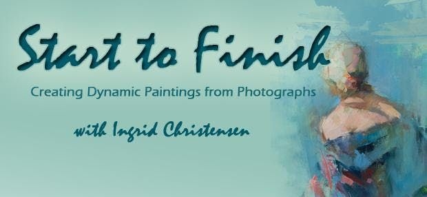 Start to Finish Creating Dynamic Paintings from Photographs with Ingrid Christensen