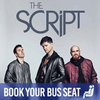 Return Bus Service to The Script at 3Arena 8-10 February 2018