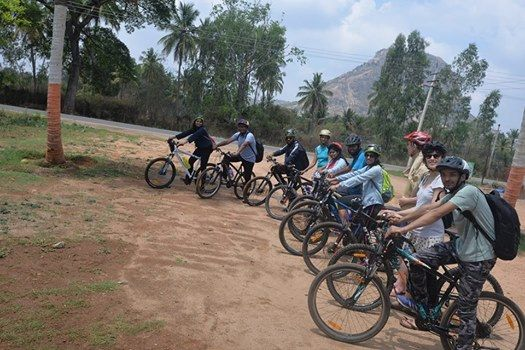 One day cycling trip to bhemeshwari through the off road muthath