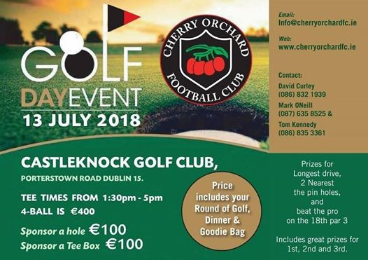 Cherry Orchard FC Golf Day