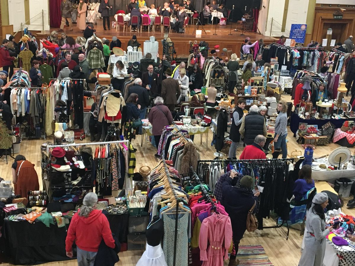 Pop Up Vintage Fairs London  Walthamstow Assembly Hall