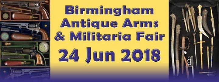 The International Birmingham Antique Arms & Militaria Fair