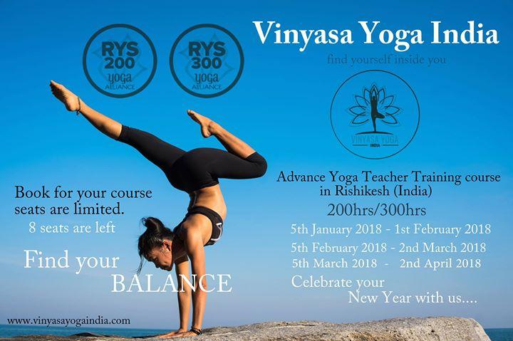 Advanced Yoga Teacher Training Course In Rishikesh India