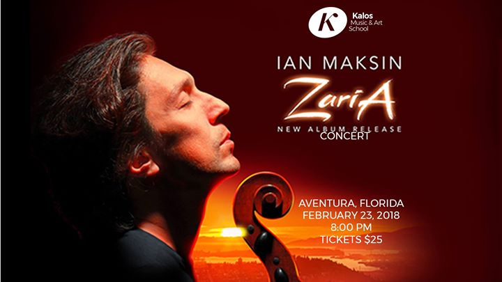 Kalos Music presents Ian Maksin in Aventura FL - Zaria