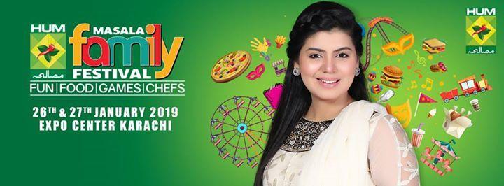 Hum Masala Family Festival Karachi  2019