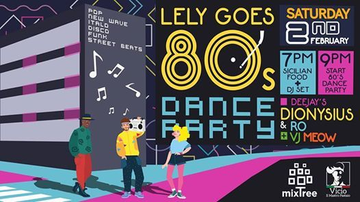 Lely goes 80s - Dress up and come to dance
