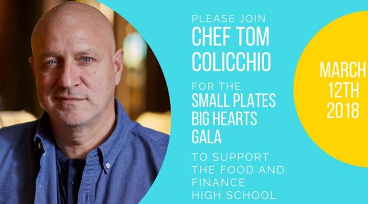 Small Plates Big Hearts Gala 2018 At Food And Finance High School