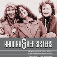 Film Hannah and Her Sisters (1986 Cert.15 ComedyDramaRomanc