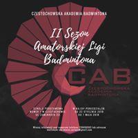 Start II Sezonu Amatorskiej Ligi Badmintona
