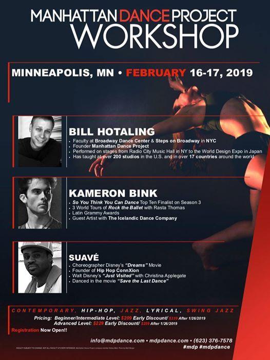 2019 MDP Minneapolis, Minnesota Workshop at Manhattan Dance