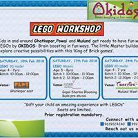 Okidos LEGO Workshop - Mulund
