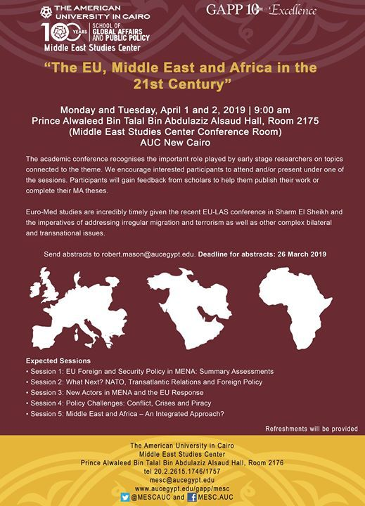 The EU Middle East and Africa in the 21st Century