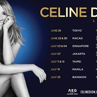 Celine Dion Live in Indonesia July 2018