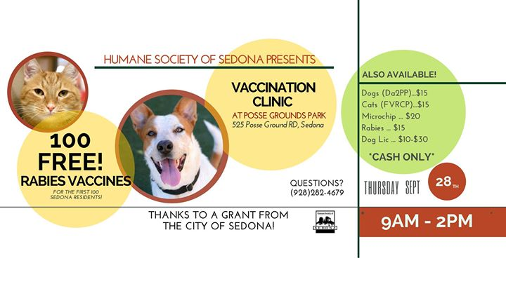 Humane Society of Sedona Vaccination Clinic