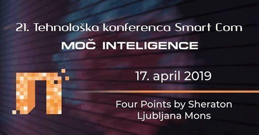 21. Tehnoloka konferenca Smart Com