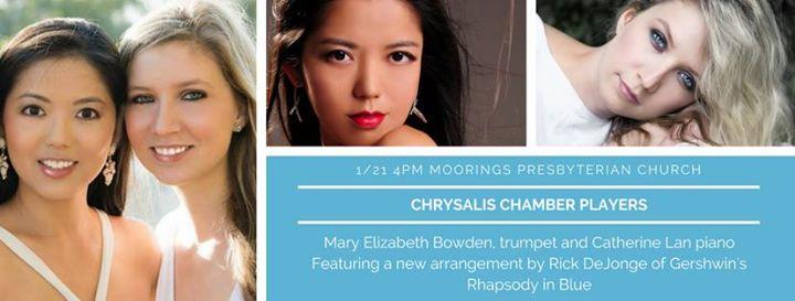 Chrysalis Chamber Players Catherine Lan & Mary Elizabeth Bowden
