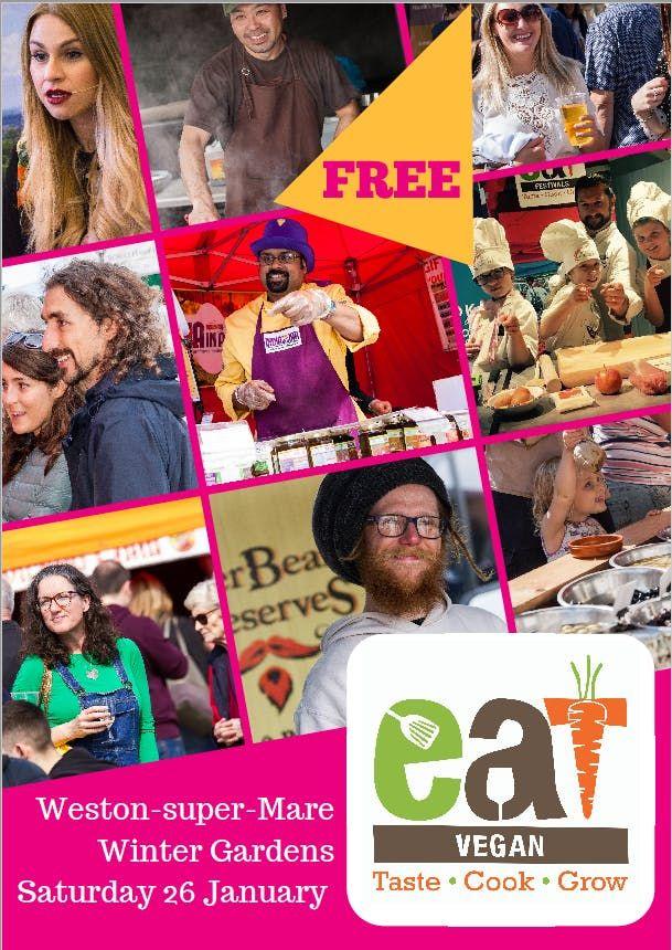 eatVegan Weston-super-Mare Vegan food and drink festival