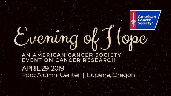 Evening Of Hope at Ford Alumni Center, Eugene
