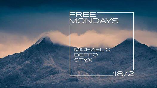 Free Mondays w DJs