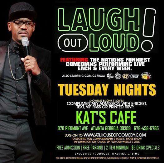 Laugh Out Loud Tuesdays