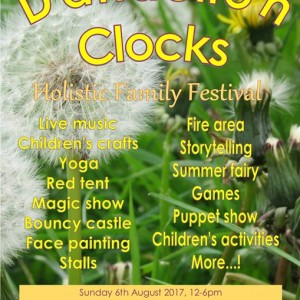 Dandelion Clocks Holistic Family Festival Exeter