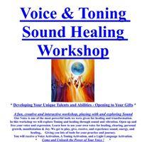 Ballarat Voice &amp Toning Sound Healing Workshop