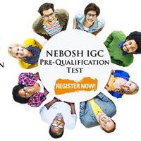 Nebosh IGC Pre Qualification Examination