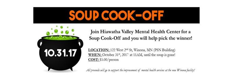 Soup Cook Off At Hiawatha Valley Mental Health Center Winona