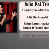 Textures of Jazz at the CTTC presents JULIA PAL TRIO