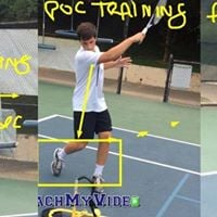 High School Tennis Player Clinics