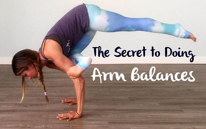 Yoga for Arm Balance and Core Strengthening By Hari Krishnan