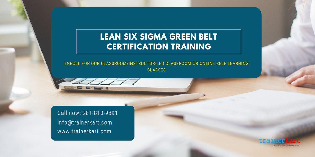 Lean Six Sigma Green Belt (LSSGB) Certification Training in Columbia SC