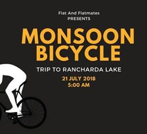 Monsoon Bicycle -Trip to Rancharda lake