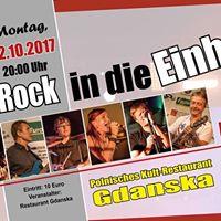 Rock in die Einheit mit Redline im Gdanska
