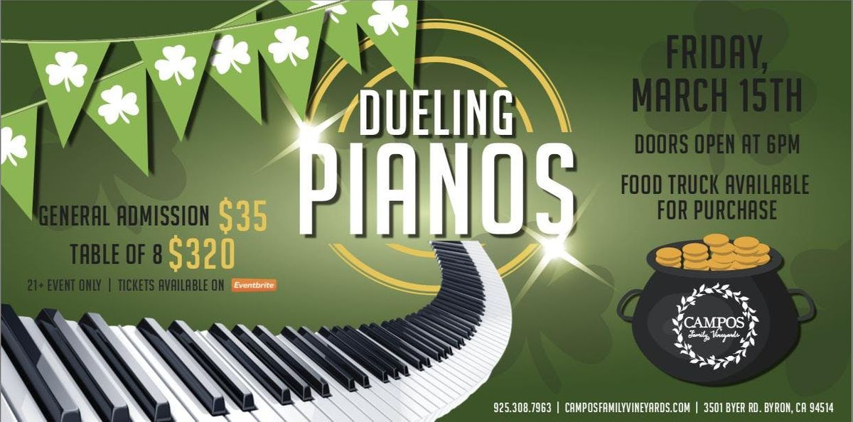 Dueling Pianos - St. Patricks Day Weekend